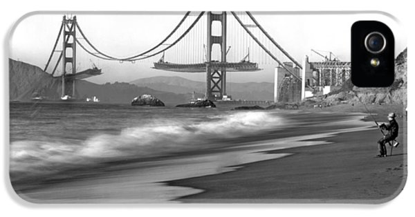 Baker Beach In Sf IPhone 5 Case by Underwood Archives