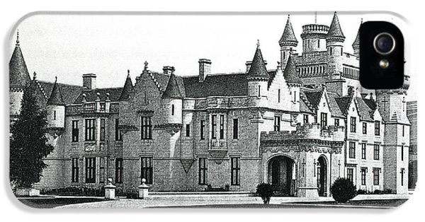 Balmoral Castle  IPhone 5 Case by English School