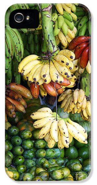 Banana Display. IPhone 5 Case by Jane Rix