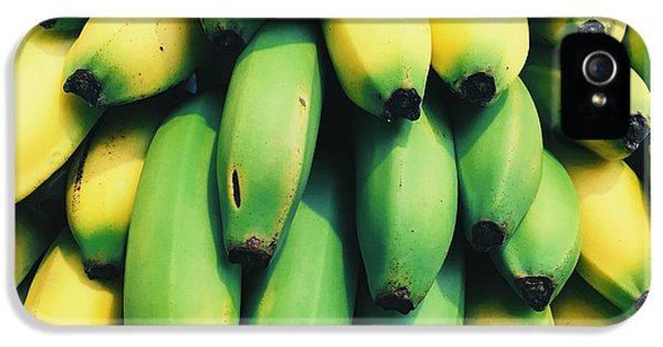 Bananas IPhone 5 Case by Happy Home Artistry