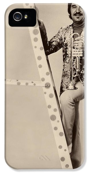 Johnny Carson iPhone 5 Case - Band Leader Doc Serverinsen 1974 by Mountain Dreams