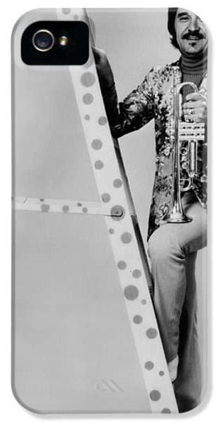 Band Leader Doc Severinson 1974 IPhone 5 Case by Mountain Dreams