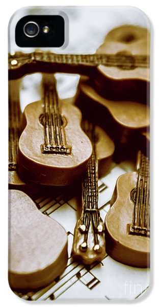 Band Of Live Acoustic Guitars IPhone 5 Case by Jorgo Photography - Wall Art Gallery