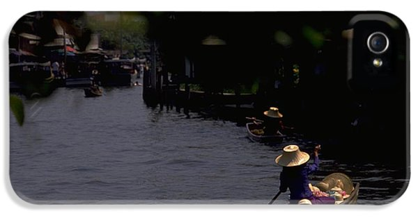 Bangkok Floating Market IPhone 5 Case by Travel Pics