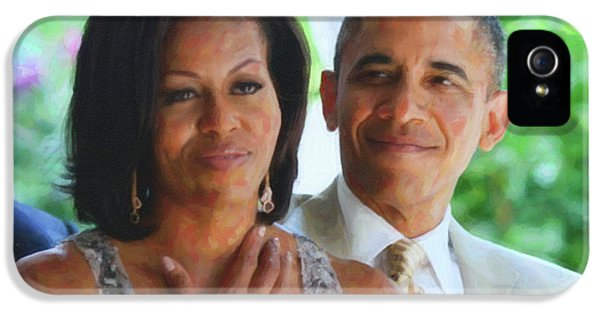 Barack And Michelle Obama IPhone 5 / 5s Case by Asar Studios