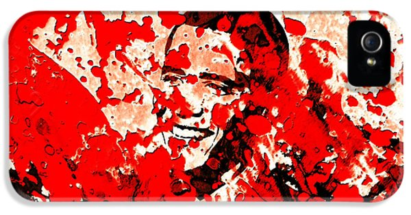 Barack Obama 44b IPhone 5 / 5s Case by Brian Reaves