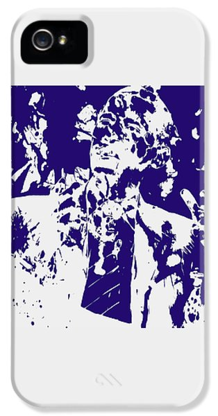 Barack Obama Paint Splatter 4a IPhone 5 / 5s Case by Brian Reaves