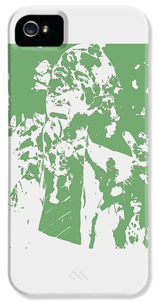 Barack Obama Paint Splatter 4c IPhone 5 Case by Brian Reaves