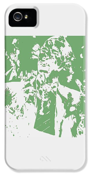 Barack Obama Paint Splatter 4c IPhone 5 / 5s Case by Brian Reaves