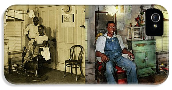 Barber - Family Owned 1942 - Side By Side IPhone 5 Case
