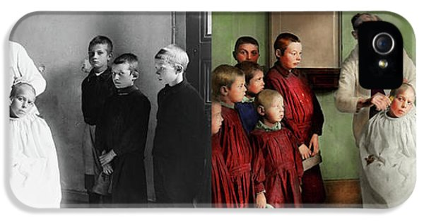 Barber - Haircut Day 1918 - Side By Side IPhone 5 Case