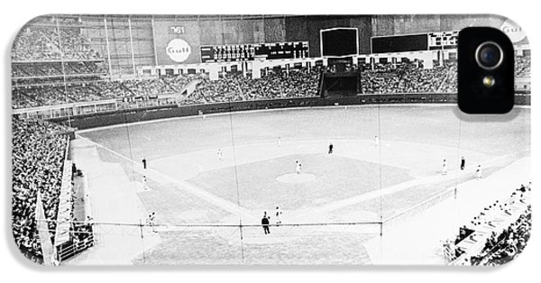Baseball: Astrodome, 1965 IPhone 5 Case by Granger