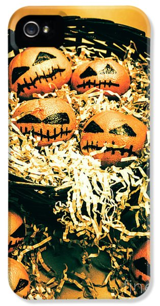 Basket Of Little Halloween Horrors IPhone 5 Case by Jorgo Photography - Wall Art Gallery