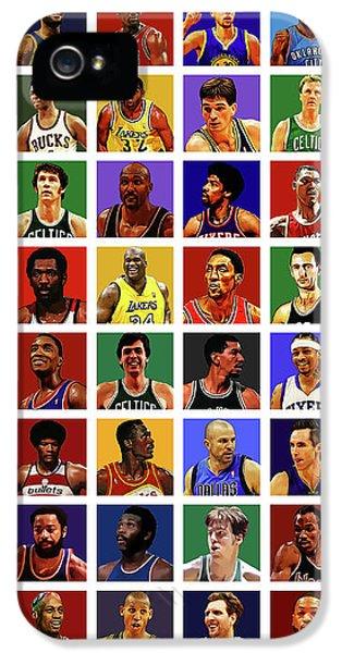 Basketball Legends IPhone 5 Case