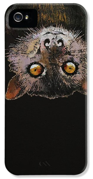 Bat IPhone 5 Case by Michael Creese