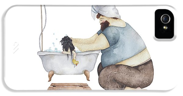 Day iPhone 5 Case - Bath Time by Soosh