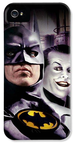 Batman 1989 IPhone 5 Case by Caio Caldas