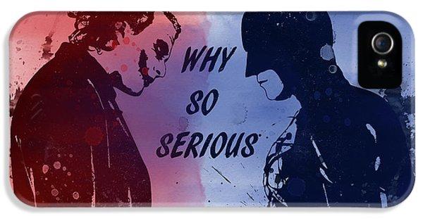Batman And Joker IPhone 5 Case