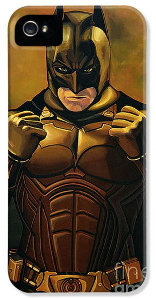 Knight iPhone 5 Case - Batman The Dark Knight  by Paul Meijering