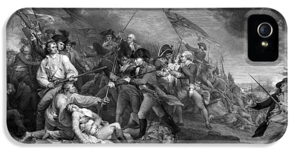 Boston iPhone 5 Case - Battle Of Bunker Hill by War Is Hell Store