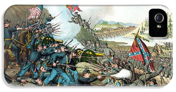 Battle Of Franklin - Civil War IPhone 5 Case