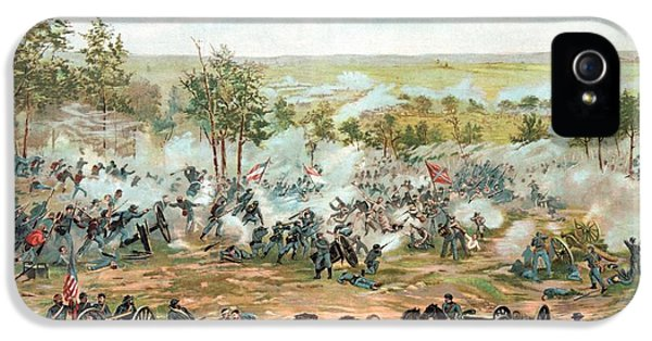 Battle Of Gettysburg IPhone 5 Case by War Is Hell Store