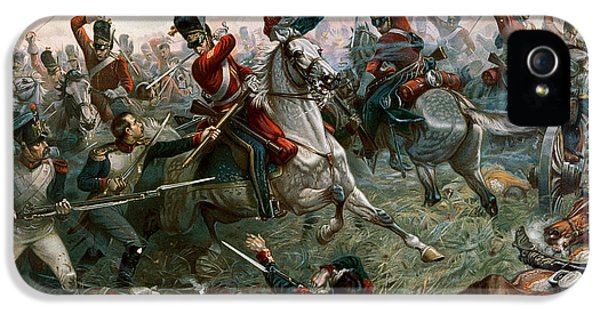 Battle Of Waterloo IPhone 5 / 5s Case by William Holmes Sullivan