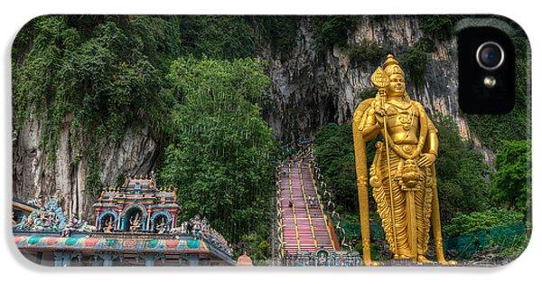 Indian iPhone 5 Cases - Batu Caves iPhone 5 Case by Adrian Evans