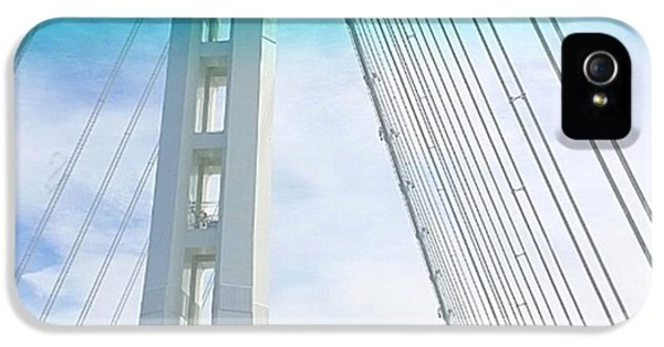 Architecture iPhone 5 Case - Bay #bridge Section. Love The Aqua Tint by Shari Warren