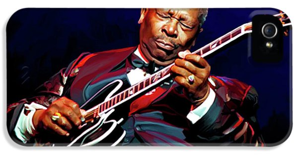 Bb King IPhone 5 Case by Paul Tagliamonte