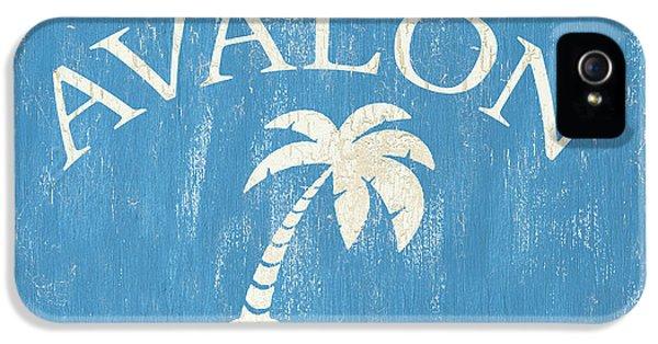 Beach Badge Avalon IPhone 5 Case