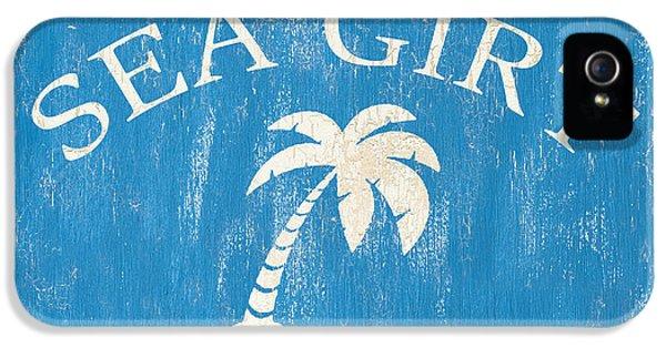 Beach Badge Sea Girt IPhone 5 Case