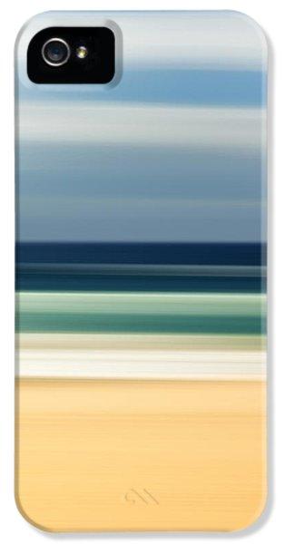Beach iPhone 5 Case - Beach Pastels by Az Jackson