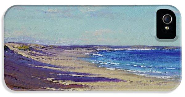 Impressionism iPhone 5 Case - Beach Sand Shadows by Graham Gercken