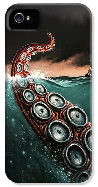 Beast 1 IPhone 5 Case by Jerry LoFaro