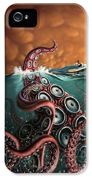Beast 3 IPhone 5 Case by Jerry LoFaro