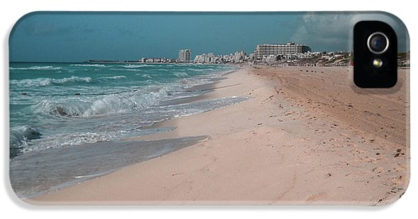 iPhone 5 Case - Beautiful Beach In Cancun, Mexico by Nicolas Gabriel Gonzalez