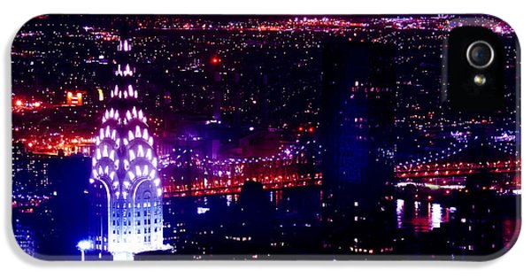 Beautiful Manhattan Skyline IPhone 5 / 5s Case by Az Jackson