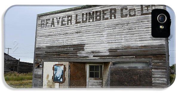 Beaver Lumber Company Ltd Robsart IPhone 5 Case by Bob Christopher
