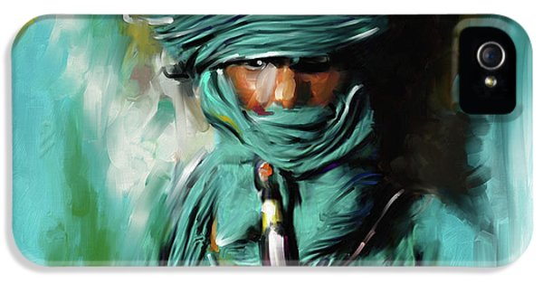 Bedouin Man 453 I IPhone 5 Case by Mawra Tahreem