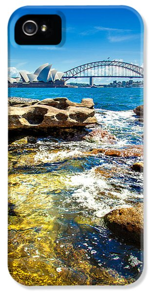 Behind The Rocks IPhone 5 Case