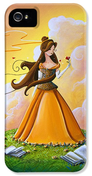 Belle IPhone 5 Case by Cindy Thornton