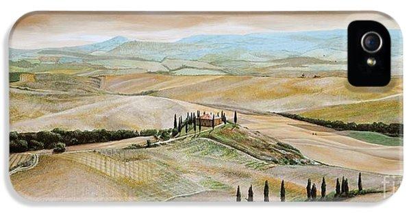 Belvedere - Tuscany IPhone 5 Case