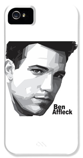 Ben Affleck Portrait Art IPhone 5 Case