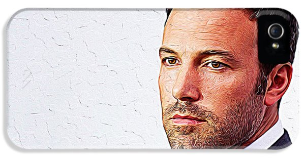Ben Affleck IPhone 5 Case by Iguanna Espinosa