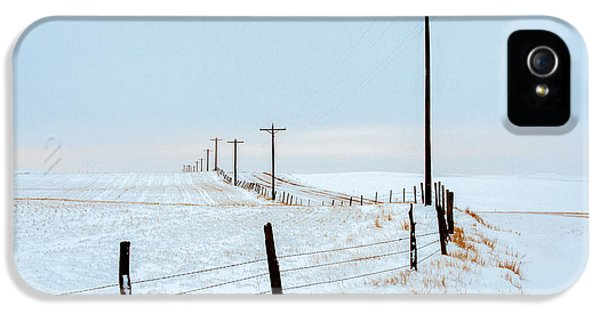 Bend In The Road IPhone 5 Case by Todd Klassy