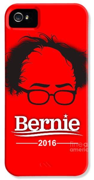 Bernie Sanders IPhone 5 Case by Marvin Blaine
