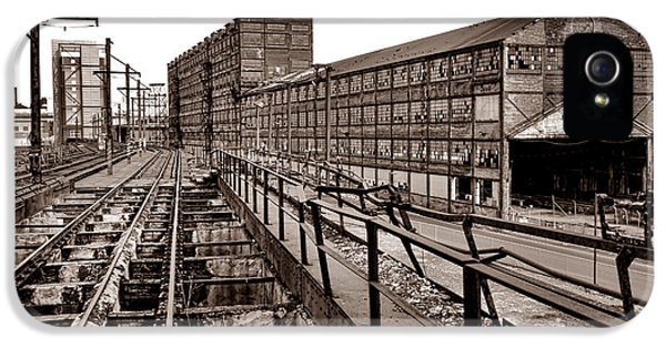 Bethlehem Steel Number Two Machine Shop IPhone 5 Case by Olivier Le Queinec