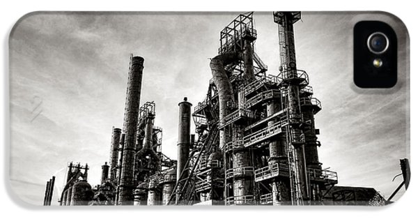 Bethlehem Steel IPhone 5 Case by Olivier Le Queinec