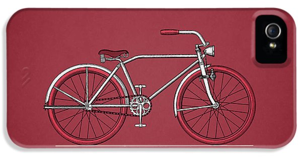 Bicycle 1935 IPhone 5 Case by Mark Rogan